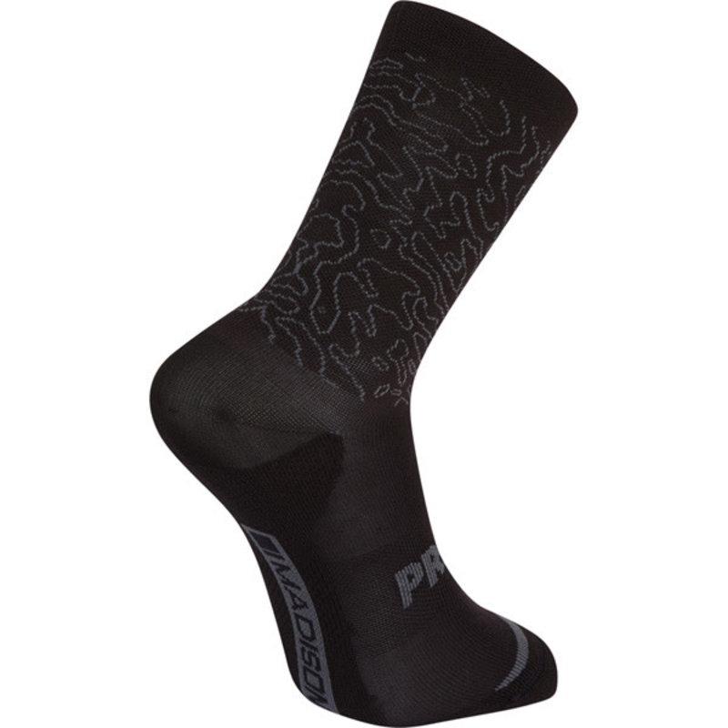 Madison Madison Explorer Primaloft Extra Long Sock Contour Castle Grey - L