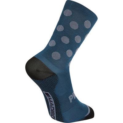 Madison Madison Explorer Primaloft Extra Long Sock Contour Polka Navy Haze - M