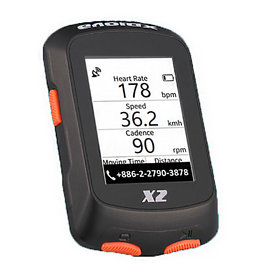 XPLOVA XPlova X2 GPS Unit with Cadence
