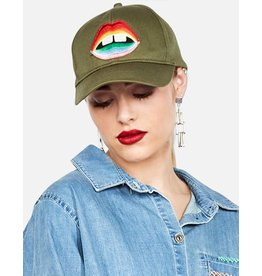 LAUREN MOSHI RAINBOW BAY LIP HAT