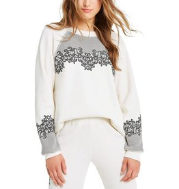 WILDFOX CHANTILY LACE SWEATER