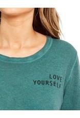 GOOD HYOUMAN LOVE YOURSELF CROP TEE
