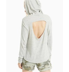 HARD TAIL SCOOP BACK HOODIE