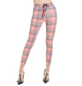 WILDFOX SWEETHEART PLAID DEMI LEGGING