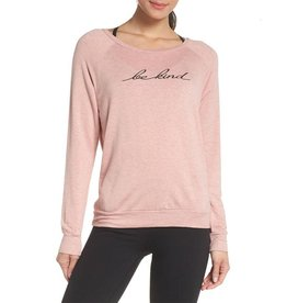 GOOD HYOUMAN BE KIND EMBROIDERED PULLOVER