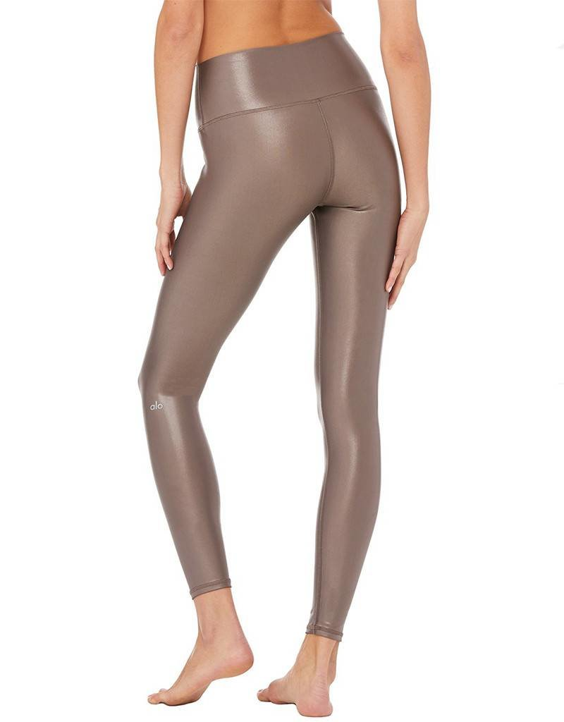 2d903282d1e73 ALO 7/8 HIGH-WAIST SHINE LEGGING - Mighty Aphrodity