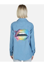 LAUREN MOSHI SAMARA RAINBOW SMUDGE LIP