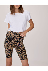 LNA LEOPARD BIKE SHORT
