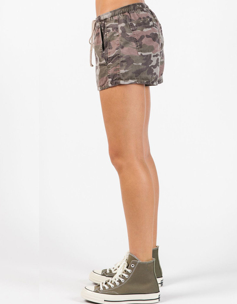 HARD TAIL CAMO DRAWSTRING SHORT