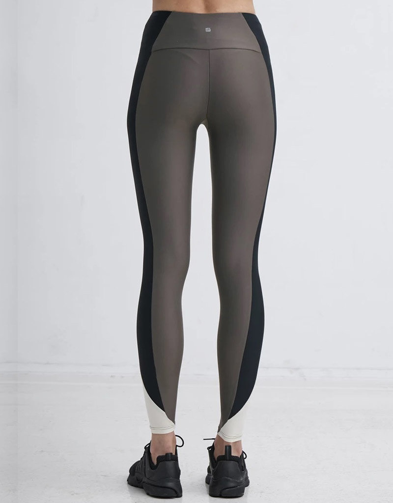 LANSTON JUMP SIDE PANELED LEGGING