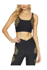 BEACH RIOT GOLD PALM TOP