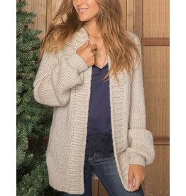 WOODEN SHIPS ANGIE OVERSIZED CARDIGAN