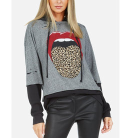 LAUREN MOSHI BREA  LEOPARD TONGUE