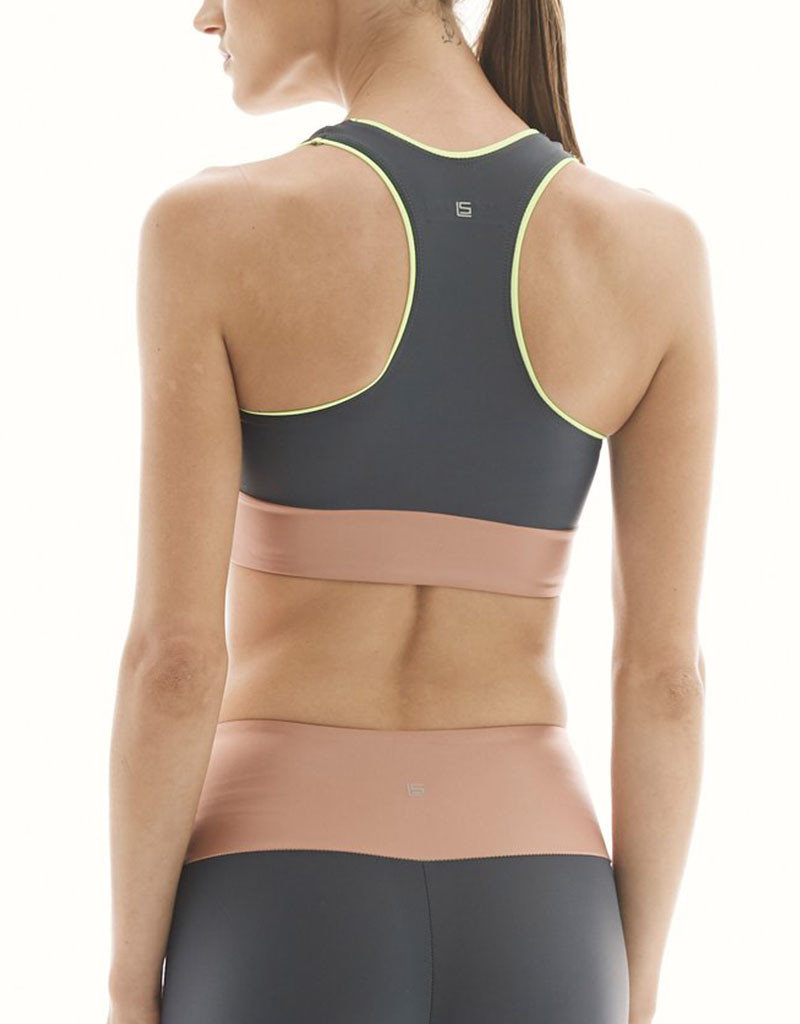 LANSTON PURSUIT BLOCKED BAND BRA