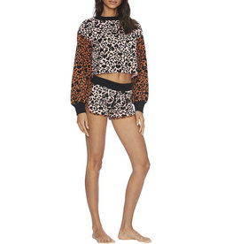 BEACH RIOT RAE SHORT LOVE LEOPARD