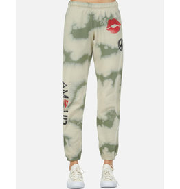 LAUREN MOSHI BRYNN SWEATPANT SPRAY KISS