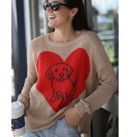 WOODEN SHIPS NEW! - DOG LOVER CREW COTTON