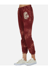 LAUREN MOSHI BRYNN SWEATPANT LOVE SKULL HEADDRESS