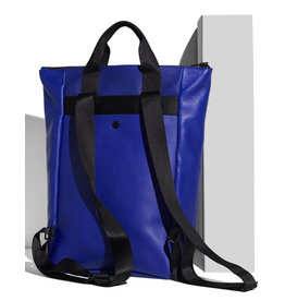 AMPERSAND AS APOSTROPHE BACKPACK-TOTE / DEEP BLUE