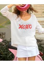 WOODEN SHIPS XOXO V NECK