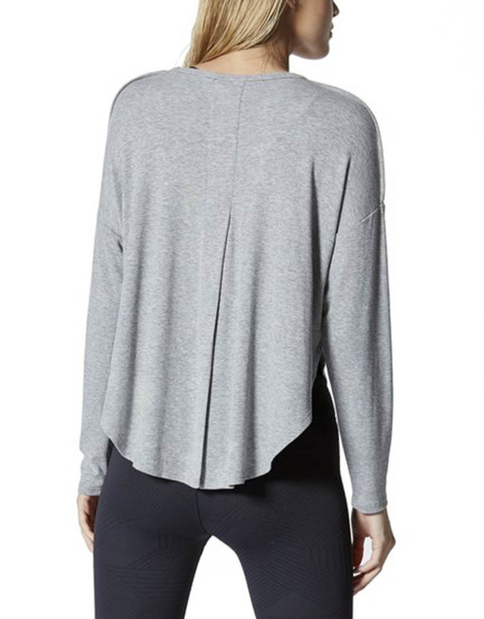 VIMMIA SERENITY LONG SLEEVE SPLIT BACK TOP