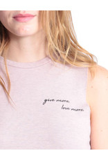 GOOD HYOUMAN GIVE MORE. LOVE MORE. - THE LILI CROP