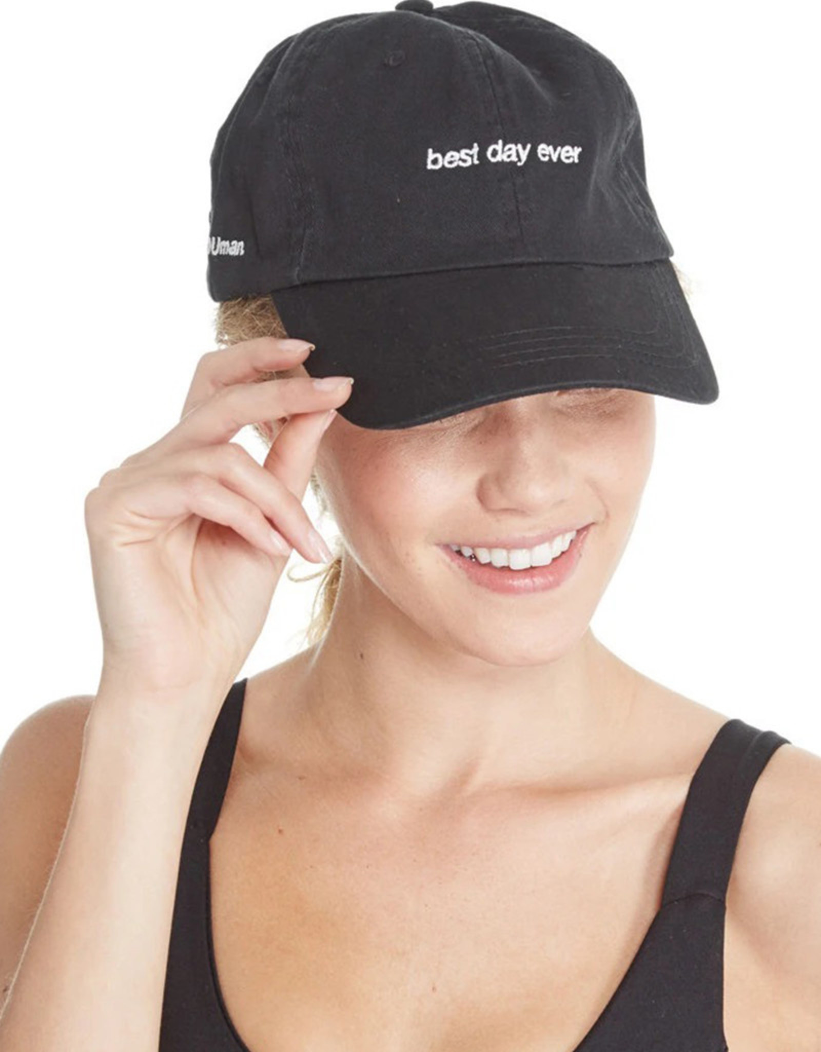GOOD HYOUMAN BEST DAY EVER - DAD BASEBALL CAP