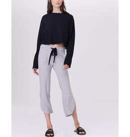 LNA BRUSHED CURVED KISMET PANT