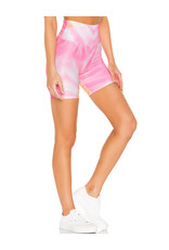 BEACH RIOT RIBBED BIKE SHORT SUNRISE TIE DYE