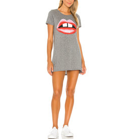 LAUREN MOSHI LANA GAP TOOTH T-SHIRT DRESS