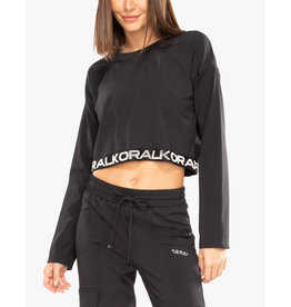 KORAL VALOR BLACKOUT CROP TOP