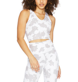BEACH RIOT RUBY TOP TAUPE COW