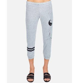 LAUREN MOSHI ALANA YOGA PRAYER CROP SWEATPANT