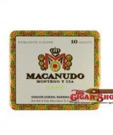 Macanudo Macanudo Cafe Ascots Tin of 10