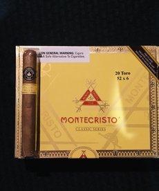 MonteCristo MonteCristo Classic Toro 6x52 Box of 20