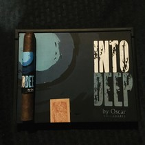 Into Deep by Oscar Valladares Maduro Toro 6x52