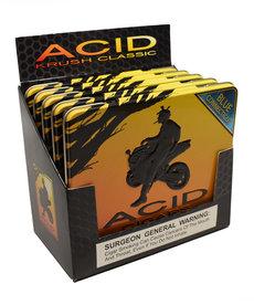 Acid Acid by Drew Estate Krush Tin of 10 Blue Sleeve of 5 Tins