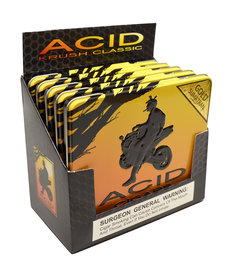 Acid Acid by Drew Estate Krush Tin of 10 Gold Sleeve of 5 Tins