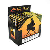 Acid by Drew Estate Krush Tin of 10 Green Candela Sleeve of 5 Tins