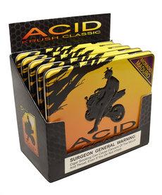 Acid Acid by Drew Estate Krush Tin of 10 Morado Sleeve of 5 Tins