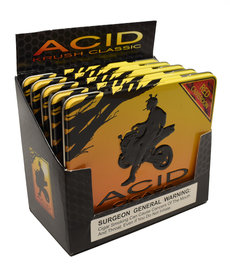 Acid Acid by Drew Estate Krush Tin of 10 Red Sleeve of 5 Tins
