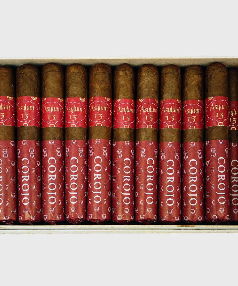 Asylum 13 Asylum 13 Authentic Corojo 50x5 Box of 50