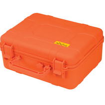 Cigar Caddy 40-Count Blaze Orange Travel Humidor