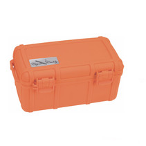 Cigar Caddy 15-Count Blaze Orange Travel Humidor