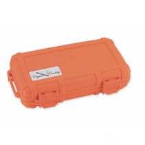 Cigar Caddy 5-Count Blaze Orange Travel Humidor