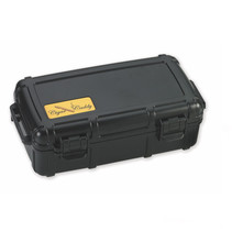 Cigar Caddy 10-Count Black Travel Humidor