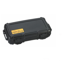 Cigar Caddy 5-Count Black Travel Humidor