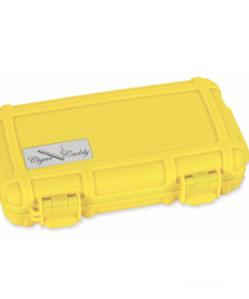 Cigar Caddy Cigar Caddy 5-Count Safety Yellow Travel Humidor