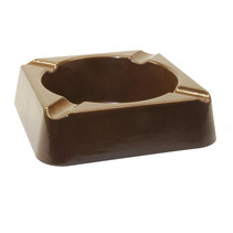 Stinky Ashtray - 4 Stirrup Brown