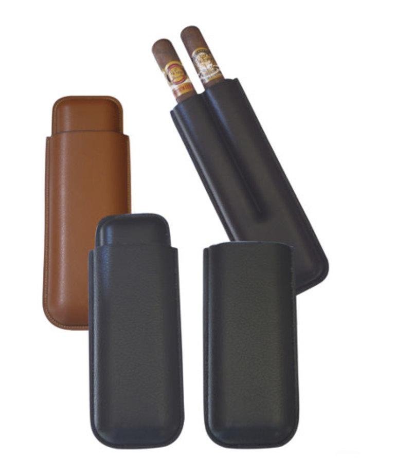 Big Easy 2-Finger Cigar Case Black